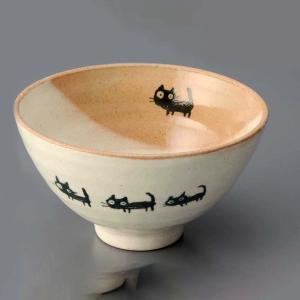 ご飯茶碗 かわいい/ ネコさんぽ 飯碗(中) /飯碗 ライスボール Rice Bowl 猫 ねこ duralex