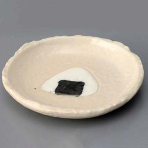 和食器 皿 おもしろ/ おにぎり丸皿(小) /陶器 ギフト 贈り物 プレゼント ポイント消化