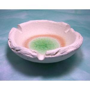 / 無釉グリーン灰皿(大) /和食器 duralex