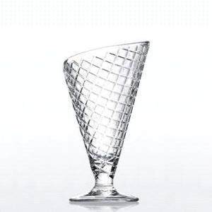 ガラス デザート グラス/ ジェラート /パフェ アイス かき氷 食器 業務用グラス ガラス業務用 ...