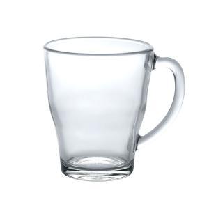 熱湯 電子レンジ 食洗機OK ガラス マグカップ 強化/ デュラレックス DURALEX コージーマグ 350cc /業務用 家庭用 スタッキング おしゃれ 紅茶 コーヒー|duralex