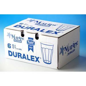 DURALEXシリーズ  人気の高いピカルディのマリンブルーカラーのグラスです。 飽きの来ないデザイ...