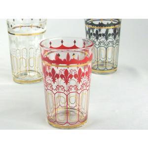 デュラレックス(DURALEX)グラス「ショップユニ」をベースに、「モロッコ」をモチーフとしたデザイ...