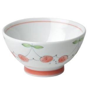 茶碗 子供用 女性用/ 笑顔さくらんぼ茶碗 /中平 可愛い rice bowl