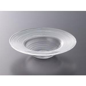 細い溝が高級感やおしゃれ感を演出します♪ パスタ皿やサラダ皿、特にスープや汁気の多い料理に 使用する...