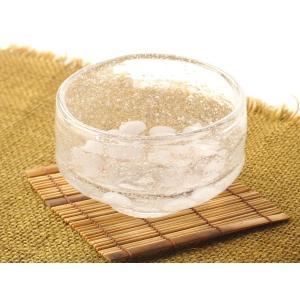 ガラスの涼しげなお碗でお抹茶いかがでしょうか? グリーンティーや冷たいお茶を入れておもてなしにおしゃ...