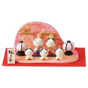 雛人形 コンパクト 安い 柚子舎 花かすみ 雛飾り