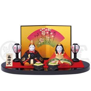 雛人形 コンパクト 安い 錦彩みやび親王雛飾り
