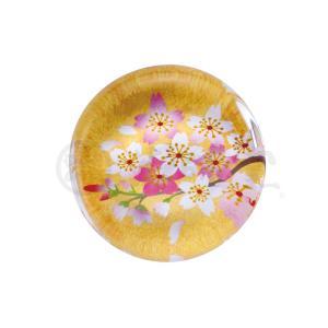 雛人形 コンパクト 陶器 小さい 可愛い ひな人形/ 玻璃箸置き(桜) 5ヶ入 /ミニチュア 初節句 お雛様 おひな様 雛飾り|duralex