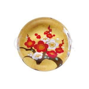 雛人形 コンパクト 陶器 小さい 可愛い ひな人形/ 玻璃箸置き(梅) 5ヶ入 /ミニチュア 初節句 お雛様 おひな様 雛飾り|duralex