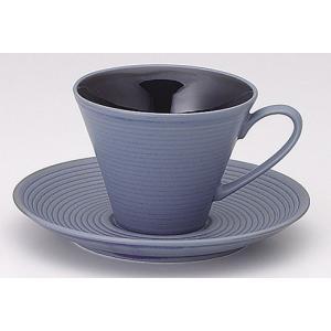 ラッフルブルーベリー コーヒーカップ&ソーサー|duralex