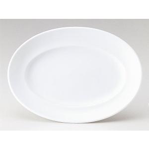 プレート 皿/ マーレ 36.5cmプラター /洋食器 業務用 ホテル レストラン 高級 プレミアム 白磁 ホワイト|duralex