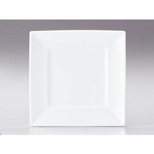 プレート 皿/ マーレ 32cm角皿 /洋食器 業務用 ホテル レストラン 高級 プレミアム 白磁 ホワイト|duralex