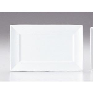 プレート 皿/ マーレ 34cm角プラター /洋食器 業務用 ホテル レストラン 高級 プレミアム 白磁 ホワイト|duralex
