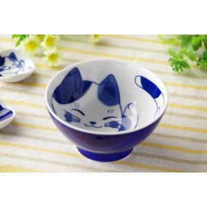 茶碗 飯碗 飯器/ ねこちぐら 中平 ミケ /猫 ネコ 可愛い 家庭用 和み 癒やし ポイント消化|duralex