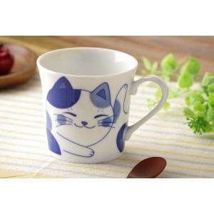 軽量 薄手 マグカップ/ ねこちぐら マグ 300cc ミケ /猫 ネコ 可愛い 家庭用 和み 癒やし ポイント消化|duralex