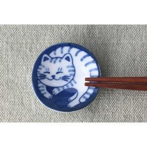 箸置き スプーンレスト/ ねこちぐら トラ 箸置き /猫 ネコ 可愛い 家庭用 和み 癒やし ポイント消化|duralex