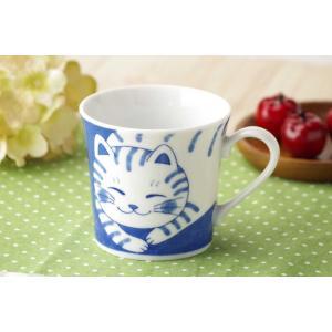 軽量 薄手 マグカップ/ ねこちぐら マグ 300cc トラ /猫 ネコ 可愛い 家庭用 和み 癒やし ポイント消化|duralex