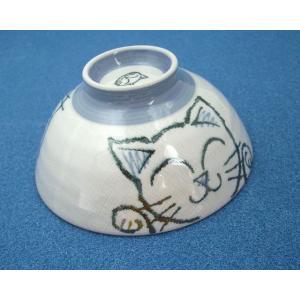 やんちゃで可愛いネコが描かれたお茶碗です。ご飯を美味しく食べましょう♪サイズ:直径 14.1cm× ...