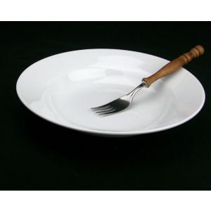 業務用 ホワイト プレート/ 白玉渕23.5cmパスタ&スープ皿 /メインディッシュ 洋食器 大皿 ポイント消化|duralex