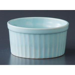 洋食器 カップ スフレ 焼き菓子/ カラースフレ(大)ブルー /オーブンOK 業務用 カフェ ポイント消化|duralex