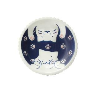 パスタ皿 メインディッシュ用プレート/ ねこと肉球21cm 深皿 /洋食器 猫好き 飾り皿にも 贈り物 duralex