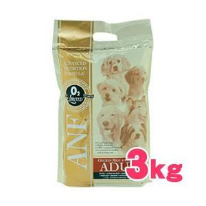 ANF アダルト チキン&ライス 3kg 犬用ドライフード