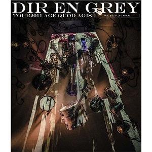 DIR EN GREY/TOUR2011 AGE QUOD AGIS VOL.2 U.S.&JAPAN (Blu-ray/邦楽)|dvdoutlet