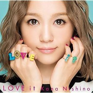 西野カナ/LOVE it(CD/邦楽ポップス)|dvdoutlet