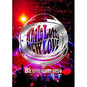 B'z/B'z LIVE-GYM 2019-Whole Lotta NEW LOVE-〈2枚組〉(DVD/邦楽)|dvdoutlet