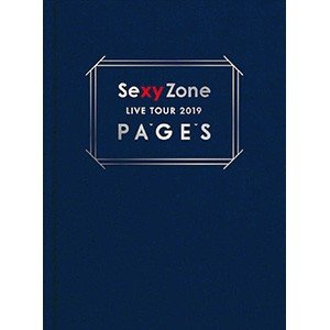 Sexy Zone/Sexy Zone LIVE TOUR 2019 PAGES〈初回限定盤・2枚組〉(DVD/邦楽)初回出荷限定|dvdoutlet