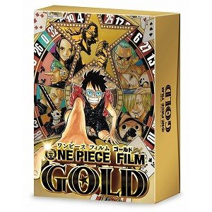 ONE PIECE FILM GOLD GOLDEN LIMITED EDITI(DVD・ファミリー)