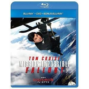 ミッション:インポッシブル フォールアウト ブルーレイ+DVDセット('18米)〈初回限定生産・3枚組〉(Blu-ray/洋画アクション|スパイ)初回出荷限定|dvdoutlet