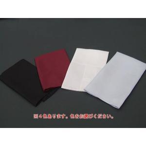 ポケットチーフ 礼装 シルク100% 白 銀 ワイン 黒 メール便選択可能  |dxksm466