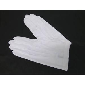 礼装 フォーマル 白手袋 モーニング用 男性用 東レ・ナイロン メール便選択可濃 |dxksm466
