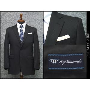 2パンツスーツ 春夏物 形状安定 ベーシック2ボタン シングルスーツ 黒縞|dxksm466