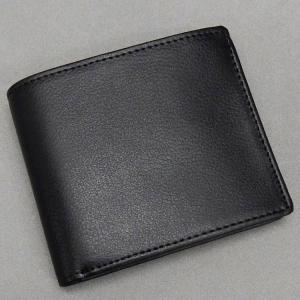〓Lynx〓リンクス◆牛革◆2つ折り財布/小銭入れ付◆黒◆無双仕立て LXD-C2231BK|dxksm466