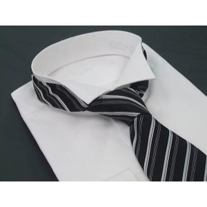 ウィングシャツ&ネクタイ&Pチーフ 3点セット|dxksm466