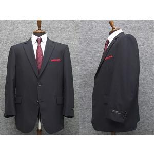 秋冬物 ビッグサイズ 2パンツ ベーシック2釦シングルスーツ 紺系ストライプ [E体] メンズスーツ SE48123-E|dxksm466