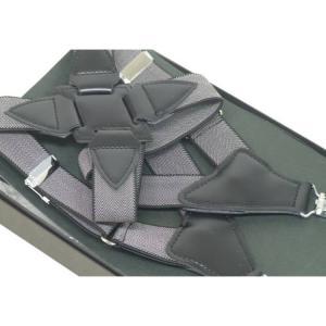 〓ホルスター型サスペンダー〓日本製◆黒×ヘリンボーン柄◇ガンホルスタータイプ GUN1|dxksm466