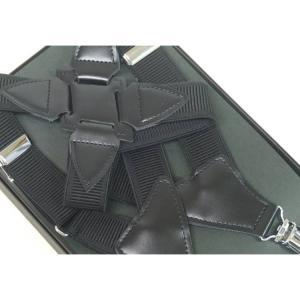 ホルスター型サスペンダー 日本製 黒×黒 ガンホルスタータイプ GUN3|dxksm466