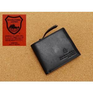 栃木レザー&迷彩 牛革 二つ折り財布 黒 カモフラージュ TCG202-BK|dxksm466