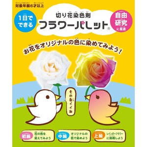 【20%OFF応援価格】フラワーパレットSTAY HOME4色セット(定形外郵便不可)|dyestuff-chameleon