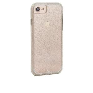 Case-Mate iPhone 8 ケース 4.7インチ 対応 (iPhone 7/iPhone 6s/6) Sheer Glam Champagne シアーグラム シャンパン クリア|dyn