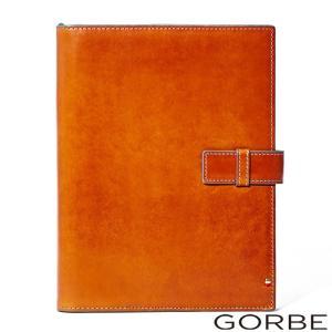 本革 本皮 手帳カバー ノートカバー GORBE イタリアンレザー手帳カバー カラーエッジモデル A5サイズ対応 ほぼ日|dyn