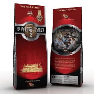 ベトナムコーヒー粉 ベトナムコーヒー TrungNguyen SangTao2 チュングエン340g、中挽き|dyn