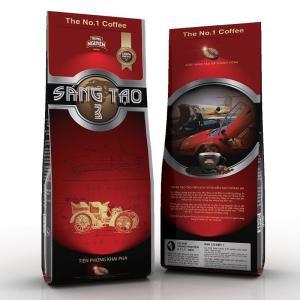 ベトナムコーヒー粉 ベトナムコーヒー TrungNguyen SangTao3 チュングエン340g、中挽き|dyn