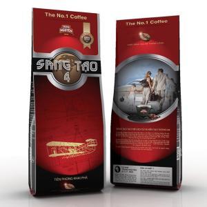 ベトナムコーヒー粉 ベトナムコーヒー TrungNguyen SangTao4 チュングエン340g、中挽き|dyn