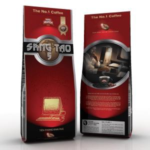 ベトナムコーヒー粉 TrungNguyen SangTao5 チュングエン340g、中挽き|dyn