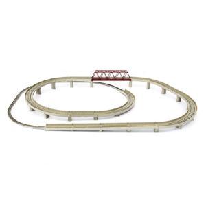 鉄道 鉄道模型 線路 レール クラシックトラック レールセットD 単線立体交差セット dyn